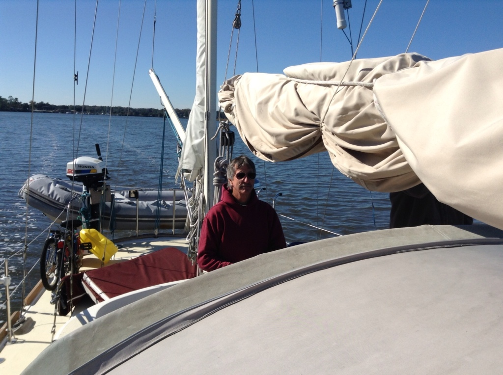 Finally Get To Go Sailing – Sort Of…